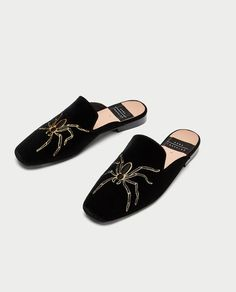 Tendance Chaussures 2017/ 2018 : MULES STYLE MOCASSINS-Chaussures plates-CHAUSSURES-FEMME | ZARA France