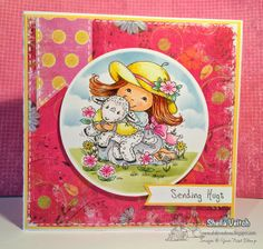 Your Next Stamp April YNS Digital New Release….My Little Lamb