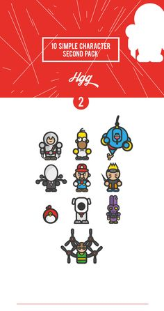 Simple Character 2º Pack_Assassin'sCreedEdition on Behance