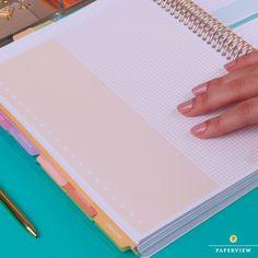 Novas páginas de planejamento... Veja em nosso site: www.paperview.com.br #meudailyplanner #dailyplanner #plannergirls #planner2017 #paperview_papelaria