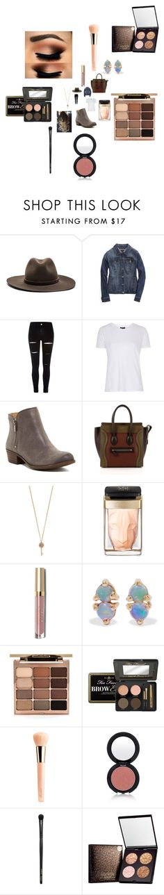 """""""Untitled #2952"""" by fashionicon67 ❤ liked on Polyvore featuring rag & bone, Tommy Hilfiger, River Island, Topshop, Lucky Brand, CÉLINE, Aéropostale, Cartier, Stila and WWAKE"""