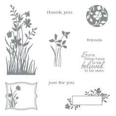 Just believe rubber stamps stampin up