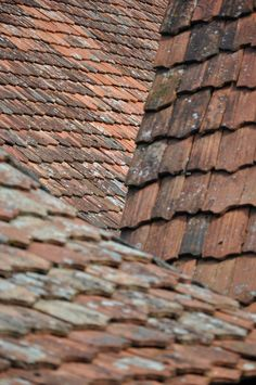 Roof, Bad Windsheim, Germany by Klaus S. Henning
