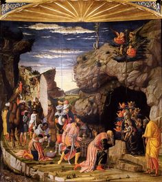 Castello di San Giorgio,_The Adoration of the Magi 1460-64