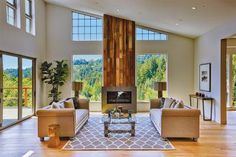 Lovell Mill Valley-- Home staging -- organic