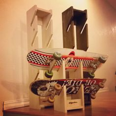 Skateboard Storage Rack