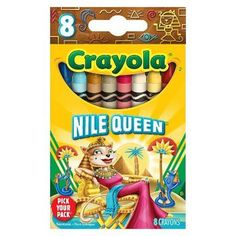 crayola crayons 8 pack | Crayola Pick your Pack Nile Queen Crayons - 8 Count
