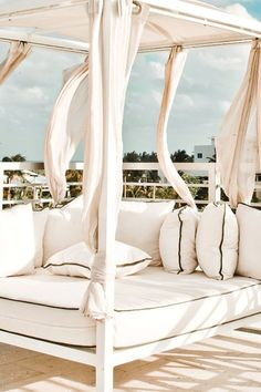 Book a cabana at the rooftop pool and enjoy Miami's good life. #JetsetterPrime Hotel (Miami, Florida)