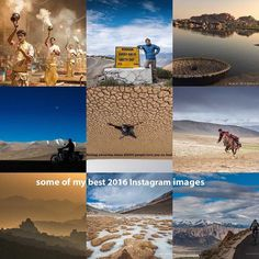 """300000 likes 20300 Instagram friends 10000 comments and 500 images are posted on my Instagram feed in 2016. Here are top 9 images from 2016. . Thank you very much friends for being part of my trips some joined me physically and some were virtual. . I definitely won't miss this opportunity to wish you all wonderful and wanderlust 2017. We must prove that """"Not all who wander are lost"""" and there is something behind the mountain range and we must find what is lost there. . So Cheers to…"""