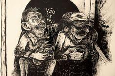 Marcio Moreno - Conversa de Trem #fridom #ilustração #art #marciomoreno