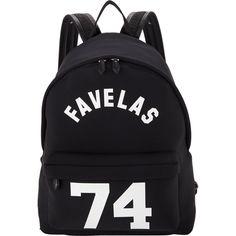 Givenchy Favelas 74 Backpack (€800) ❤ liked on Polyvore featuring bags, backpacks, bags - backpacks, bolsas, givenchy backpack, daypack bag, neoprene bag, knapsack bag and day pack backpack