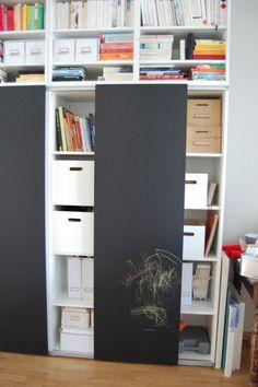 diy schiebet ren selber machen ikea hack billy 7 ver ndern erneuern pinterest schiebe. Black Bedroom Furniture Sets. Home Design Ideas