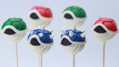 Today I made Mario Kart 8 Koopa Shell Cake Pops with two very special guests. I really enjoy making nerdy themed goodies and decorating them. I'm not a pro, ...