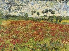Vincent van Gogh - Field of Poppies
