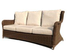 Bayshore Outdoor Wicker Sofa