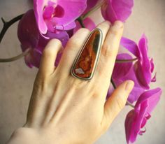 Flight of the Monarch Ring  Size 6.75  Moroccan by LaFreeBoheme