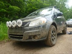 Sweet, I always point these out and think it's probably a fun little car, I didn't know they could be lifted easily! Now I really want one! '11 Suzuki SX4 AWD - Expedition Portal