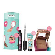 Makeup Gift Sets, Makeup Kit, Benefit Cosmetics, Makeup Cosmetics, Sephora, Fibre Gel, Christmas Gift Sets, Holiday, Christmas Presents