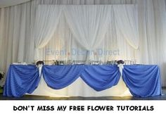 Wedding Backdrop Panels - Reception Decorating Ideas