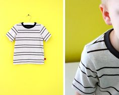 TUTORIAL and Free Pattern: 5 steps to the BASIC TEE   MADE