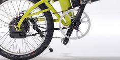 Bernds elektrische vouwfiets - zelf je fiets samenstellen - exclusief en handgemaakt. www.florismoo.nl