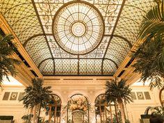 Palm Court at the Plaza Hotel-Interior Landmarks-Treasures of New York-Larry Lederman-NYC