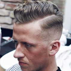 Comb Over Fade Haircuts. The comb over fade haircuts is becoming more and more popular because they are versatile and can work with many styles and looks. Latest Men Hairstyles, Mens Hairstyles Fade, Cool Hairstyles For Men, Popular Haircuts, Cool Haircuts, Hairstyles Haircuts, Haircuts For Men, Crazy Hairstyles, Summer Hairstyles