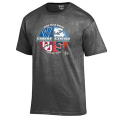 Official 2016 NCAA Final Four March Madness Houston Basketball Gray T-Shirt
