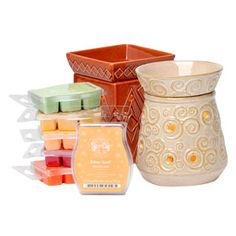 Perfect Full-Size Scentsy    6 Scentsy Bars of your choice, plus 2 Full-Size Scentsy Warmers ($15 savings).