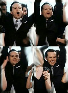 Andrew Scott! I'm just going to imagine he's cheering for me! ;)