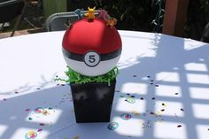 Pokemon centerpiece created by teresa-carroza-quevedo My_event21@yahoo.com