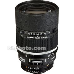 Nikon AF DC-NIKKOR 135mm f/2D Lens 1935 B&H Photo Video