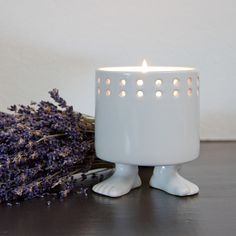 (99+) French Lavender Premium Hand-Poured Soy Candle from Dylan Kendall Home on OpenSky