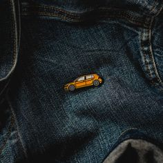 Grab these awsome Ginster Yellow Volkswagen Golf R soft enamel pin. VW Golf GTI pin available also!