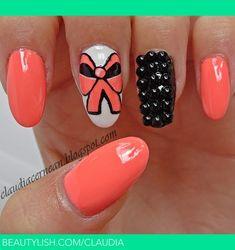 Black Pearls Nails | Claudia C.'s (claudia) Photo | Beautylish