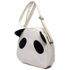 2012 panda head cartoon easily bear women's handbag student school... ❤ liked on Polyvore featuring bags, handbags, purses, panda purse, cartoon purse, genuine leather purse, bear purse and 100 leather handbags