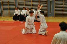 Aikido Kyuprüfung am 11.04.2014 in Linz: Suwari waza Shomen uchi Ikkyo