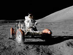 NASA - Driving on the Moon