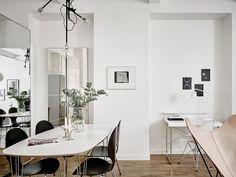 Un piso de 44 m2 en el que se aprovecha cada rincón #hogarhabitissimo #nordic #industrial