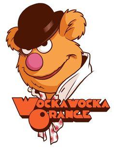 The Muppets + A Clockwork Orange = Wockawocka Orange
