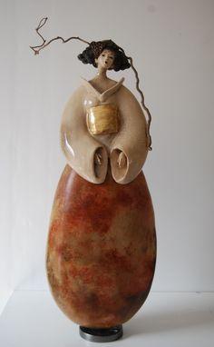 Fine Porcelain China Diane Japan Value Human Sculpture, Sculptures Céramiques, Art Sculpture, Pottery Sculpture, Abstract Sculpture, Pottery Art, Ceramic Figures, Ceramic Artists, Porcelain Ceramics
