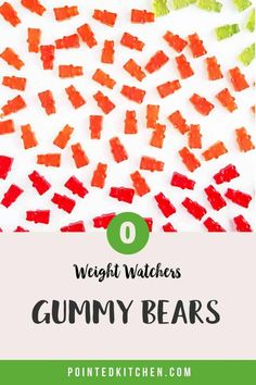 Looking for zero point candy? Then try these easy to make sugar free gummy bears. Just 3 ingredients and zero smartpoints on Weight Watchers Blue, Purple and Green plans. A tasty WW dessert recipe. #weightwatcherssnacks #weightwatchersrecipeswithpoints #zerosmartpoints #wwsnackrecipes Weight Watchers Plan, Weight Watchers Smart Points, Weight Watchers Chicken, Weight Watchers Desserts, Sour Gummy Bears, Sugar Free Gummy Bears, Jelly Crystals, Ww Desserts, Ww Recipes