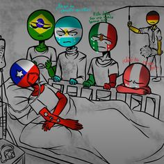 Read CanMex from the story Imagenes yaoi de CountryHumans by with reads. etc, perú, chile. Creepy Pasta Family, Mundo Comic, Country Art, Diabolik Lovers, Yandere, Hetalia, Dragon Ball Z, Cute Art, Chile
