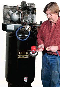 How to Determine What Size Air Compressor and SCFM Air Tools Require