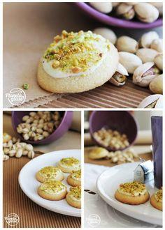 Planeta Glasé: Pastas de chocolate blanco y pistacho