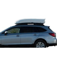 INNO Racks Wedge 13 Cu Foot Cargo Box White BRM624WH. Fits aero, square, round, and most factory racks. Dual side opening for easy access to your cargo easy installation. Memory mount allows you to install / remove the cargo box easy and quickly once it has been set the first time. The New track design makes it simple to adjust forward or back for hatch easy clearance provides a better seal to keep out bad weather. The Base of the box is made with injection moulding for strong thickness...
