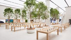 Apple unveils revamped Regent Street store by Foster + Partners