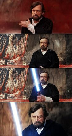 The Resistance is dead, the war is over, and when I kill you, I will have killed the last Jedi! Every word of what you just said was wrong. The Rebellion is reborn today. The war is just beginning. And I will not be the last Jedi. Star Wars Art, Star Trek, Science Fiction, Jedi Knight, Mark Hamill, The Force Is Strong, Last Jedi, Love Stars, Luke Skywalker