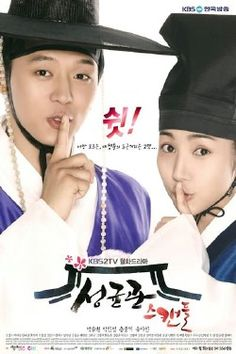 Sungkyunkwan Scandal. A lighthearted period drama. It was funny. Although the romance could have been more.  It has some really nice visuals, featuring cutie Song Joong Ki and sassy Yoo Ah In. Alongside idol Yoochun, and sweetheart Park Min Young