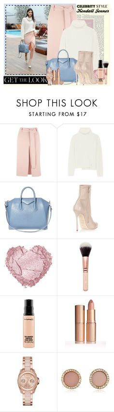 """""""Kendall Jenner Look"""" by girllondon ❤ liked on Polyvore featuring Closet, Proenza Schouler, Givenchy, Dsquared2, MAC Cosmetics, MICHAEL Michael Kors and Michael Kors"""